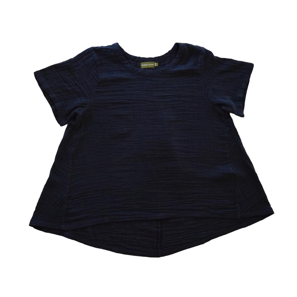 Honest Cotton Women's Tuscan Top NAVY