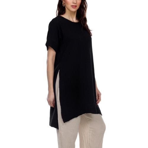 Honest Cotton Women's Laguna Tunic Black