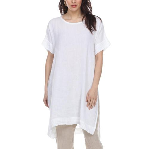Honest Cotton Women's Laguna Tunic White
