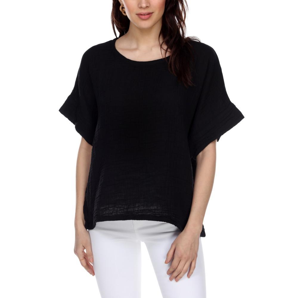 Honest Cotton Women's Boxy Tee BLACK