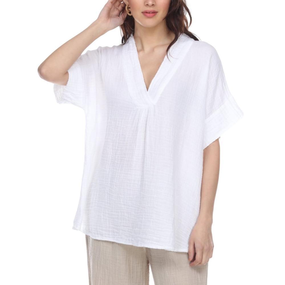 Honest Cotton Women's Judy Tunic WHITE