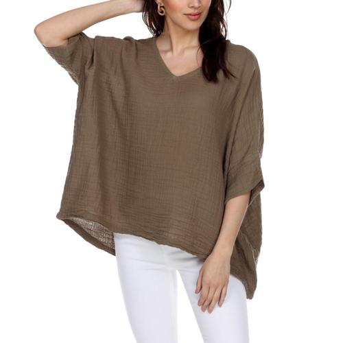 Honest Cotton Women's Kennedy Tunic Taupe