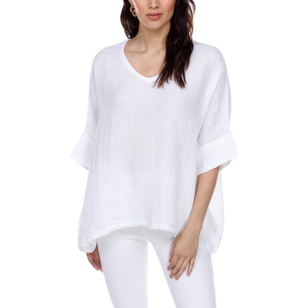 Honest Cotton Women's Kennedy Tunic WHITE
