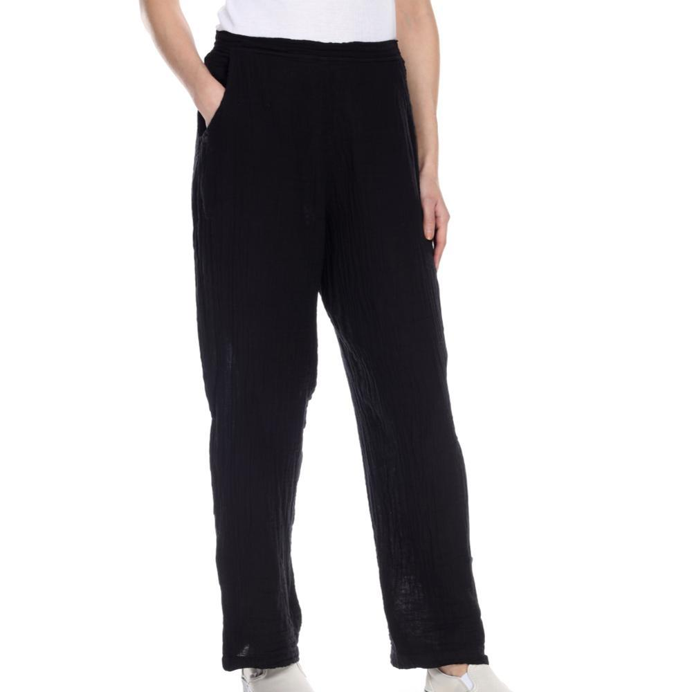 Honest Cotton Women's Tapered Pants BLACK