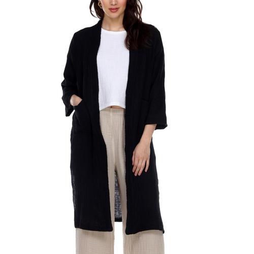 Honest Cotton Women's Jordan Jacket Black
