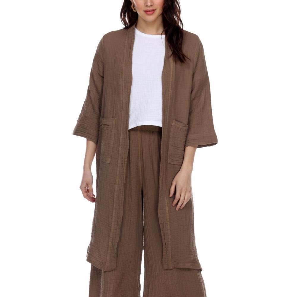 Honest Cotton Women's Jordan Jacket TAUPE