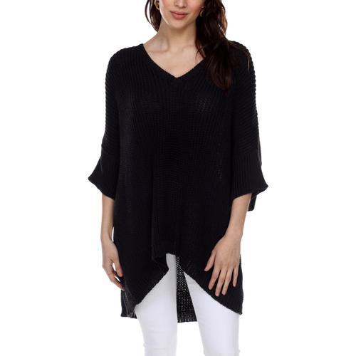 Honest Cotton Women's Handknit Kennedy Tunic Black