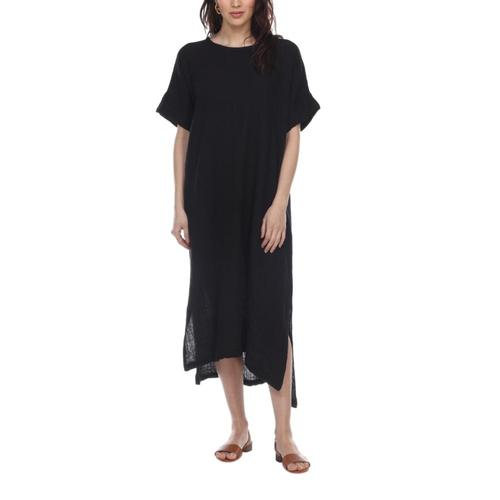 Honest Cotton Women's Laguna Dress Black