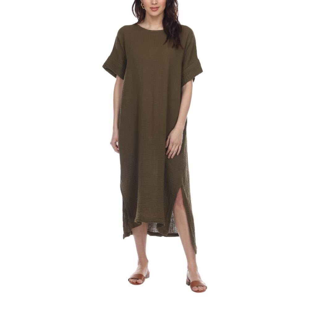 Honest Cotton Women's Laguna Dress OLIVE
