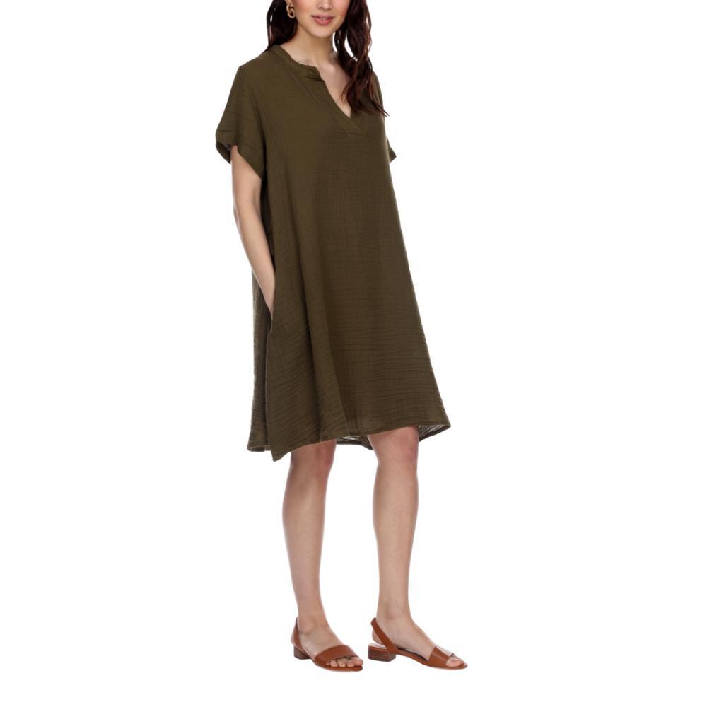Honest Cotton Women's Chelsea Dress OLIVE