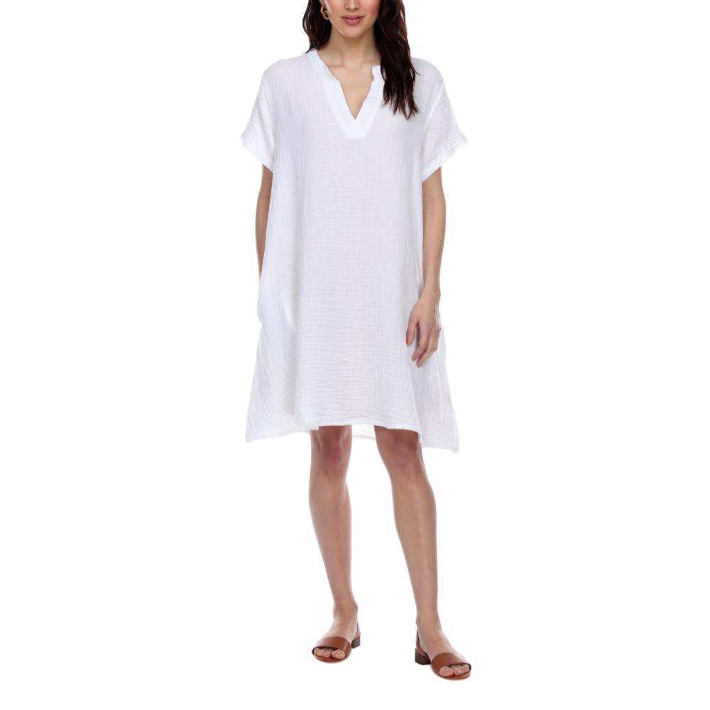 Honest Cotton Women's Chelsea Dress WHITE