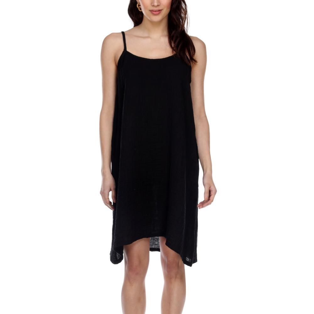 Honest Cotton Women's Cotton Slip BLACK