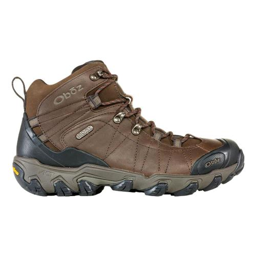 Oboz Men's Bridger Premium Mid Waterproof Hiking Boots Sadlbrn