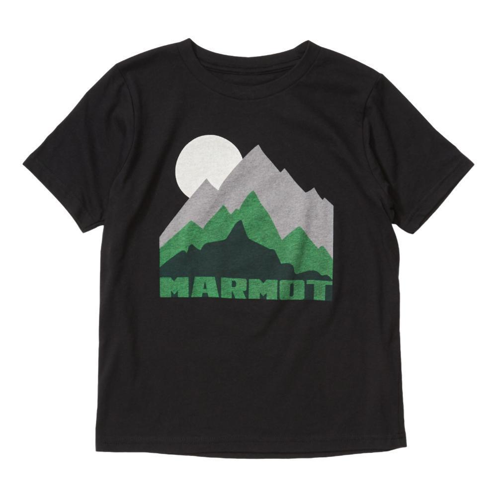Marmot Boys Purview Short Sleeve Tee BLACK_001