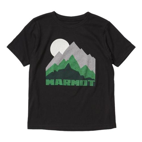 Marmot Boys Purview Short Sleeve Tee Black_001