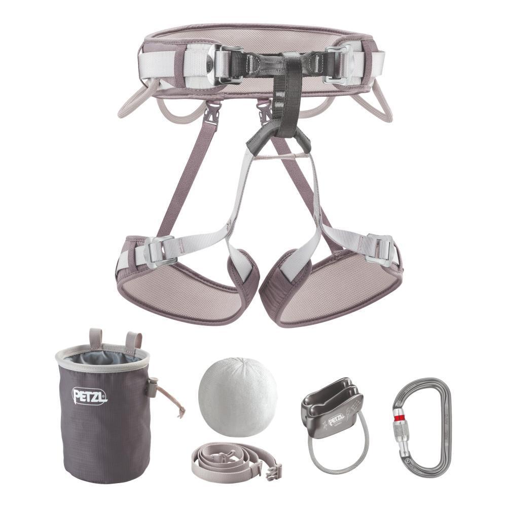 Petzl Corax Climbing Kit - Size 1 GREY