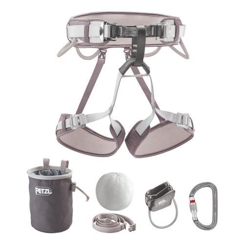 Petzl Kit Corax Climbing Kit - Size 2 Grey