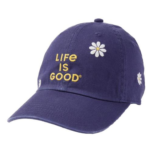 Life is Good Daisy LIG Stack Chill Cap Darkstblue