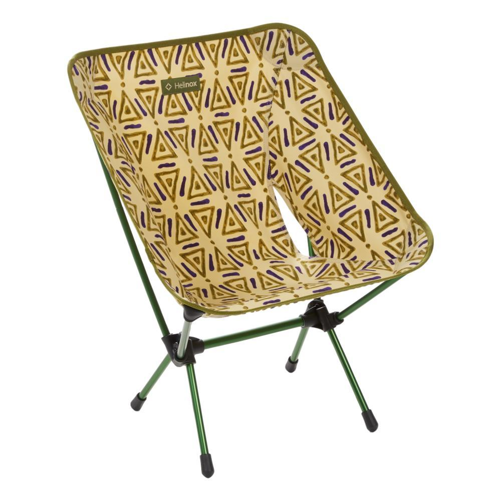 Helinox Chair One Print TRIANGLE_GREEN