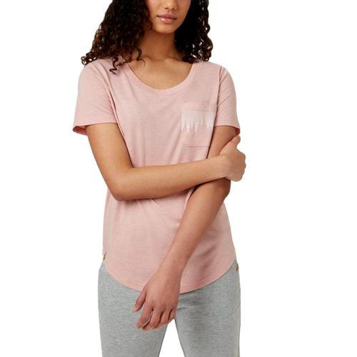 tentree Women's Juniper Pocket T-Shirt Qpink_0720
