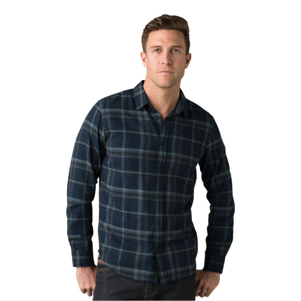 prAna Men's Shayne Flannel Shirt NAUTICAL