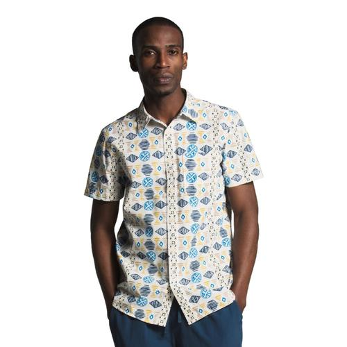 The North Face Men's Short Sleeve Baytrail Pattern Shirt Vintage_q71