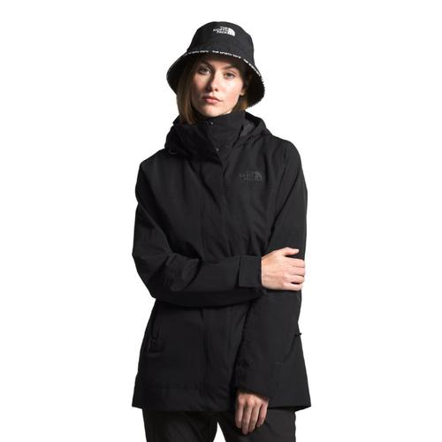 The North Face Women's Westoak City Trench Black_jk3