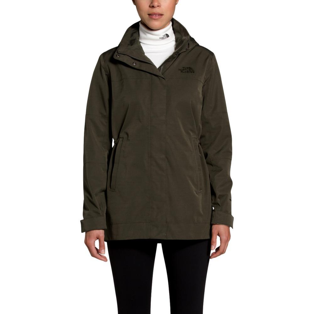 The North Face Women's Westoak City Trench GREEN_21L