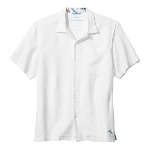 Tommy Bahama Men's Sea Glass Camp Shirt White_33