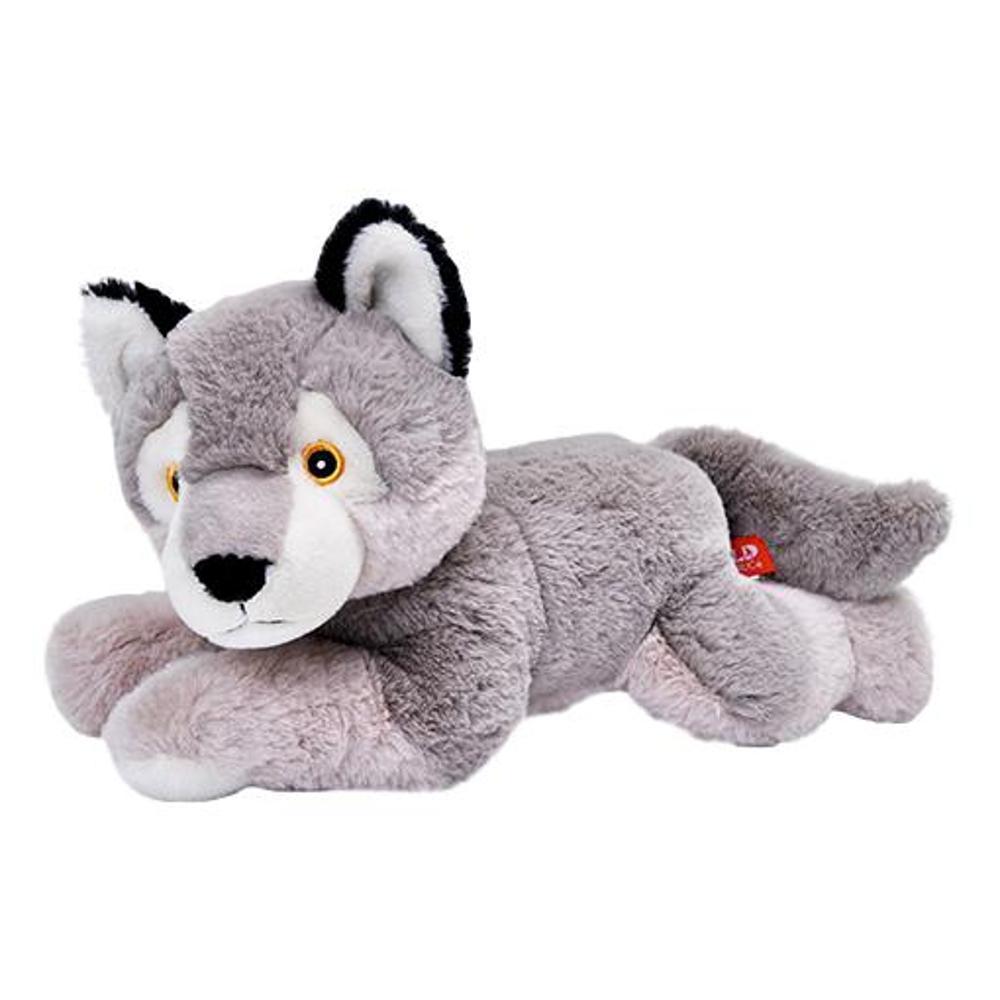 Wild Republic Wolf Ecokins 12in Stuffed Animal