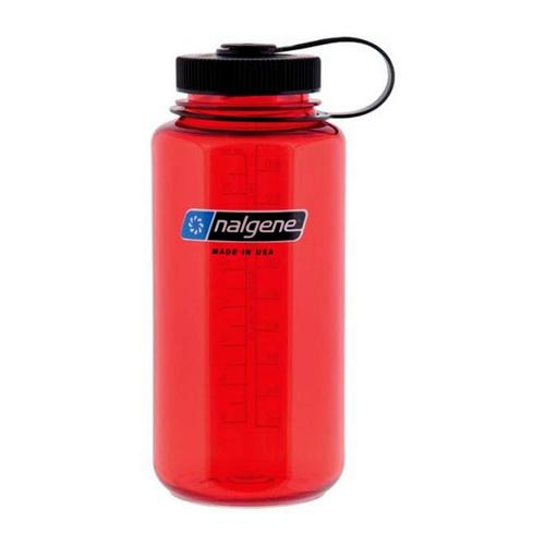 Nalgene Tritan Wide-Mouth Bottle 32oz Lollipop_red