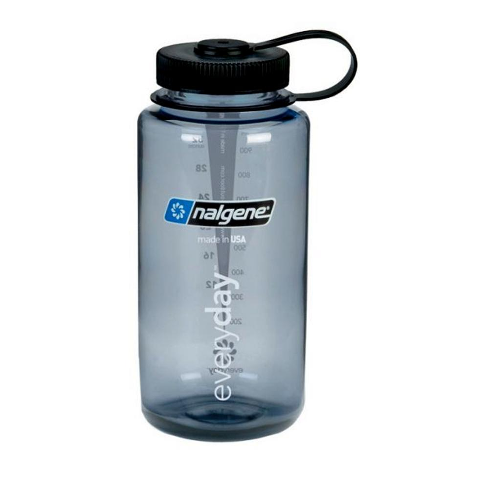 Nalgene Tritan Wide-Mouth Bottle 32oz GRAY_BLK_LID