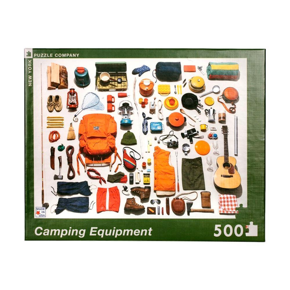 New York Puzzle Company Camping Equipment Jigsaw Puzzle