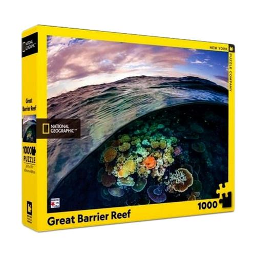 New York Puzzle Company National Geographic Great Barrier Reef Jigsaw Puzzle