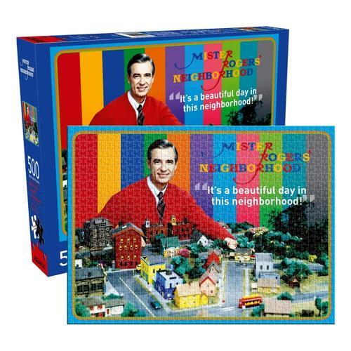 Aquarius Mister Rogers 500 Piece Jigsaw Puzzle