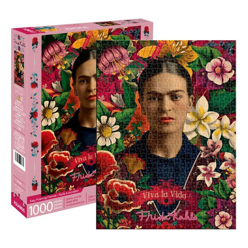 Aquarius Frida Kahlo 1000 Piece Jigsaw Puzzle