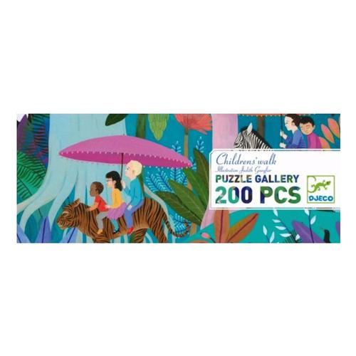 Djeco Children's Walk Gallery Jigsaw Puzzle