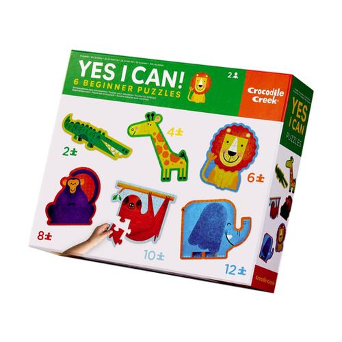 Crocodile Creek Yes I Can! Jungle Jigsaw Puzzle