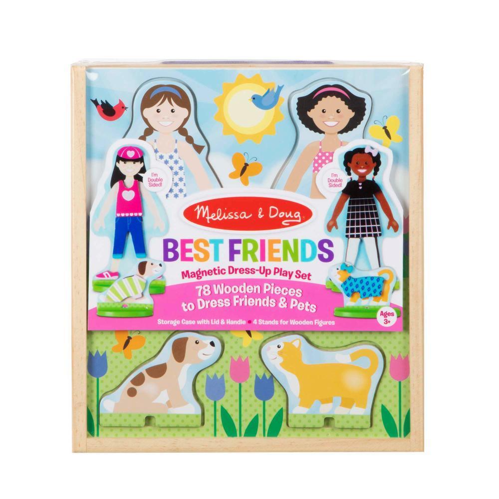 Melissa & Doug Best Friends Magnetic Dress- Up Play Set