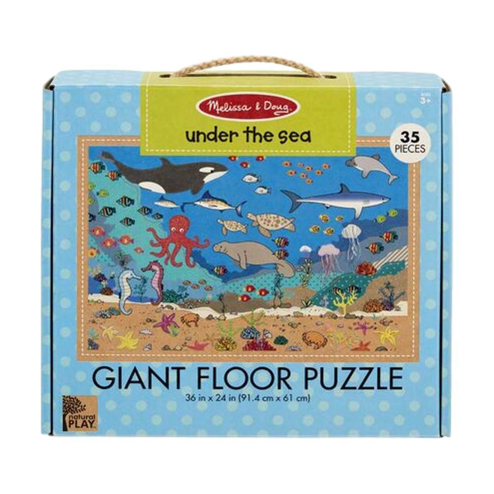 Melissa & Doug Natural Play Floor Jigsaw Puzzle : Under The Sea
