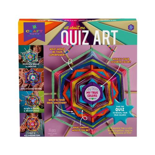 Craft-tastic All About Me Quiz Art Kit