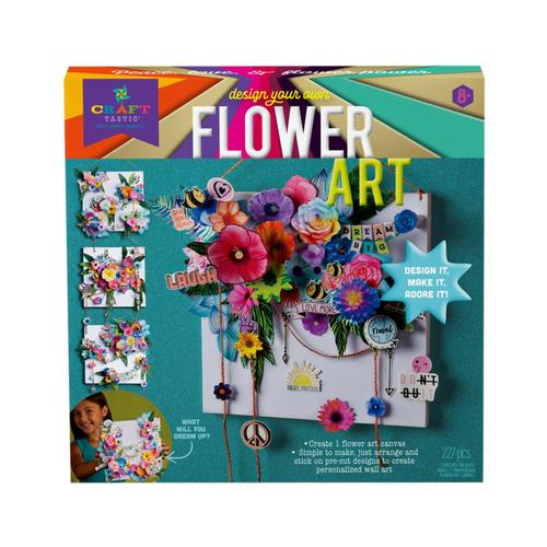 Craft-tastic Design Your Own Flower Art Kit