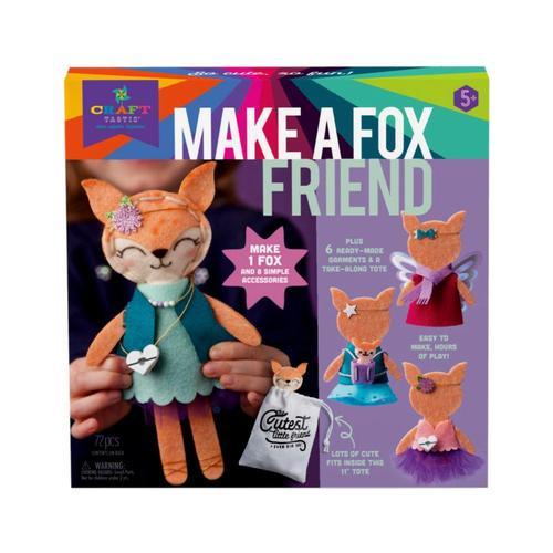 Craft-tastic Make a Fox Friend