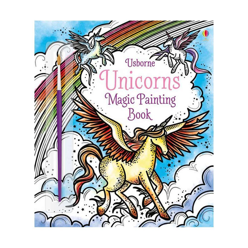 Unicorns Magic Painting Book By Fiona Watt