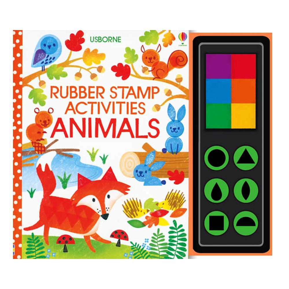Rubber Stamp Activities Animals By Fiona Watt