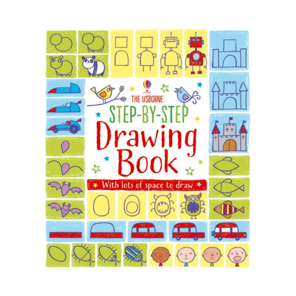 Step- By- Step Drawing Book By Fiona Watt