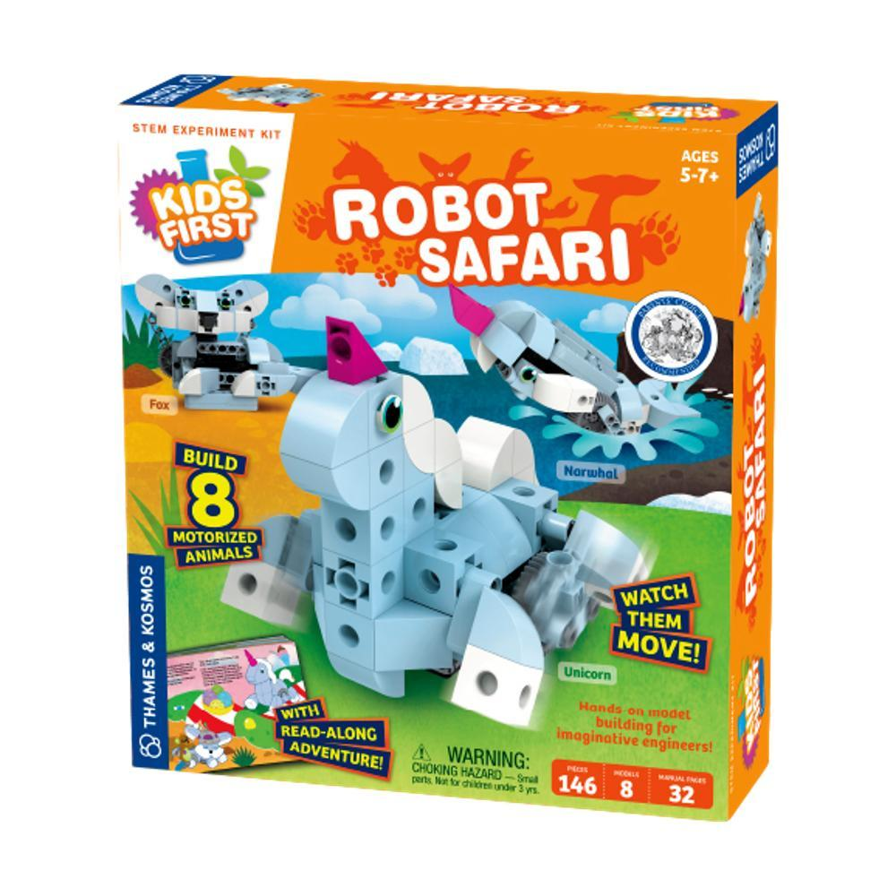 Thames And Kosmos Kids First Robot Safari