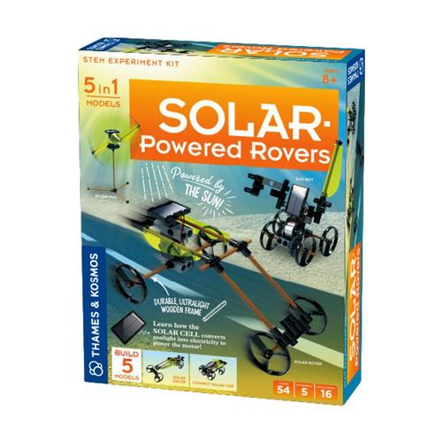 Thames and Kosmos Solar-Powered Rovers