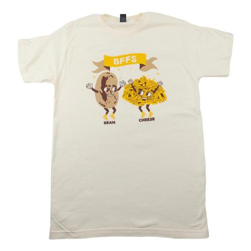 BarbacoApparel BFFs Bean & Cheese T-Shirt Natural