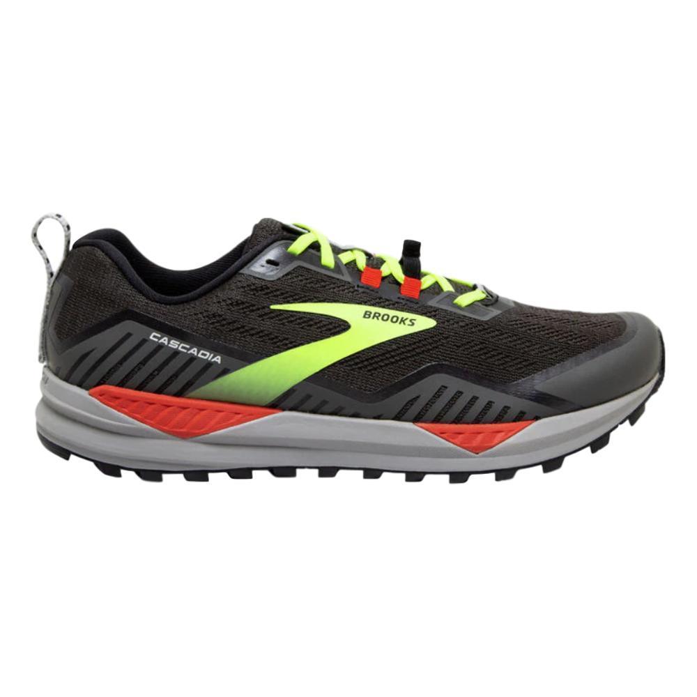 Brooks Men's Cascadia 15 Trail Running Shoes BLK.RVN.CHE_076